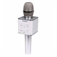 Microfono Ranser Mc Ra70gr Karaoke Bluetooth Parlante