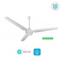 Ventilador De Techo Liliana Industrial Con Luz Vthi513