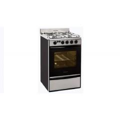 Cocina Multigas Volcan 89673vm Acero Inox 55cm