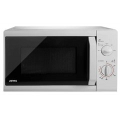 Microondas Atma Easy Cook Mr1720 Blanco 20l Rotativo