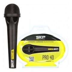 Microfono profesional SKP Audio Pro40 dinamico unidireccional
