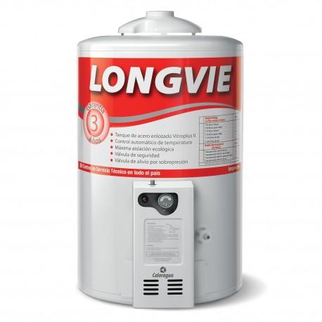 Termotanque A Gas Longvie 50l. T3050Cf Recup. Simultanea