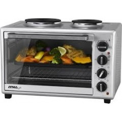 Horno electrico atma hg4010ae 40 lts, 1500 w, 2 anafes superiores